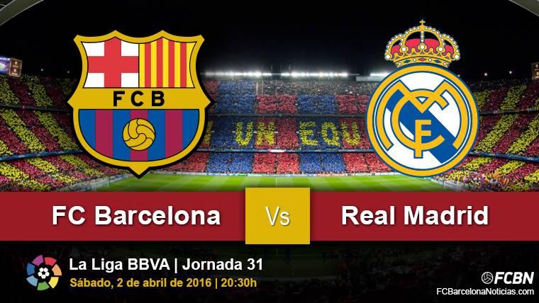 la previa del partido fc barcelona vs real madrid liga