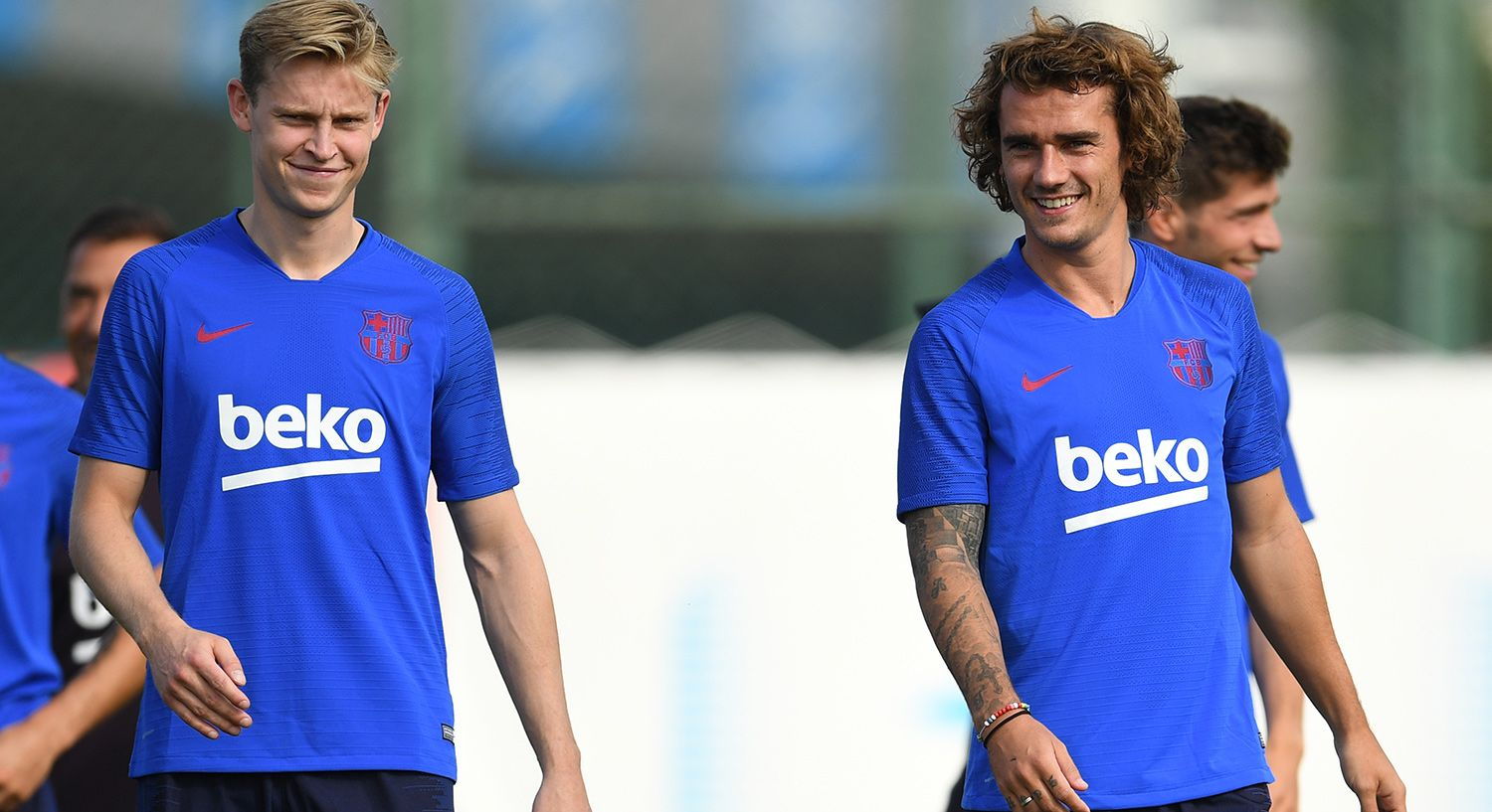 """Griezmann, delighted with De Jong: """"He likes me a lot"""""""
