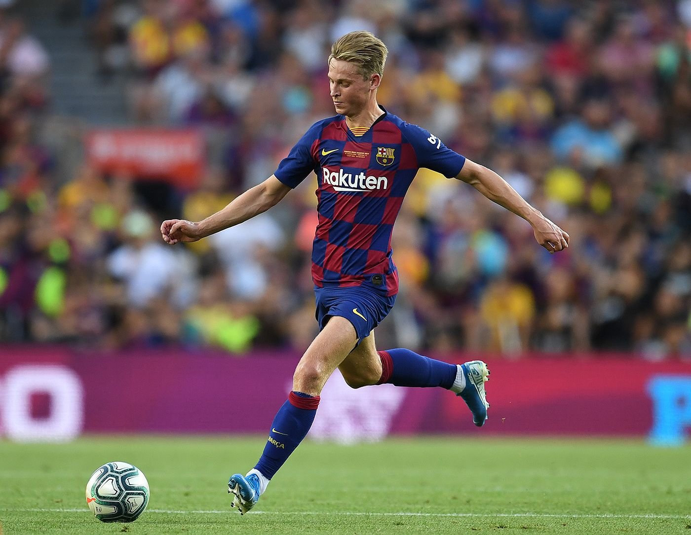 De Jong I M Not Afraid Of Competition I Will Try To Be One Of The Chosen