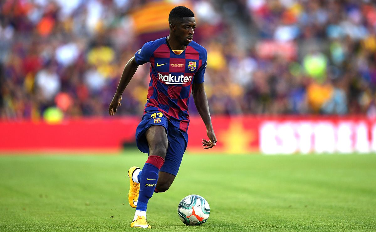 The FC Barcelona fans doubt of Ousmane Dembélé