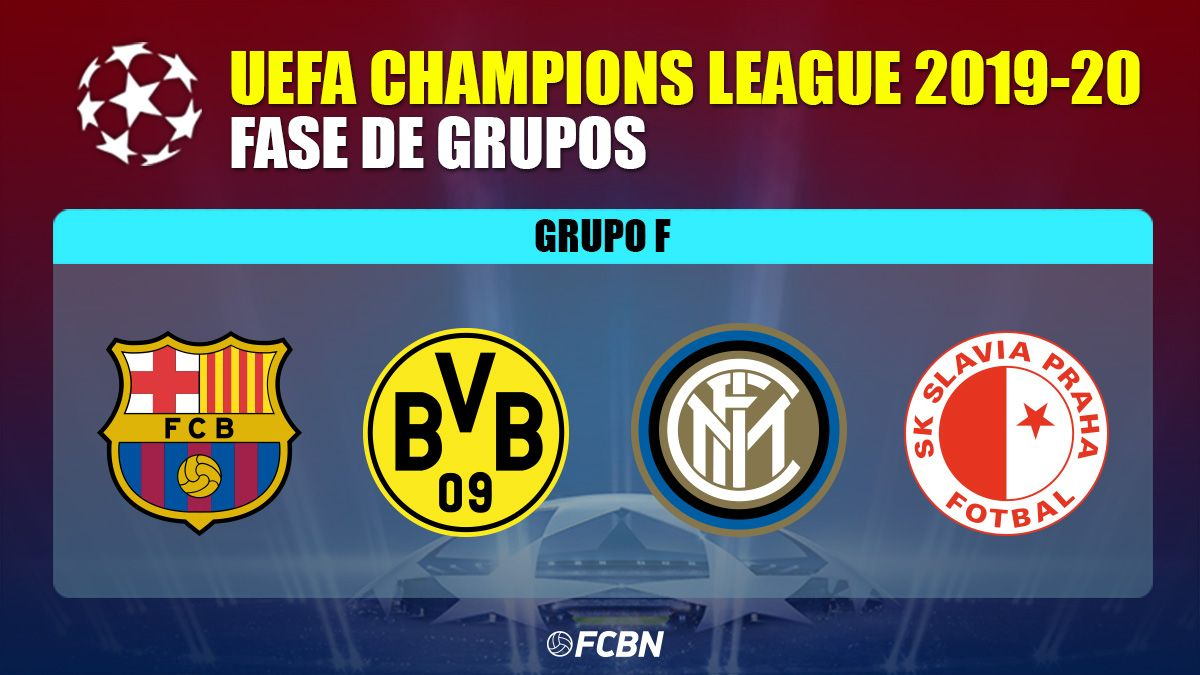 Dortmund, Inter and Slavia will be the rivals of the Barça in the ...