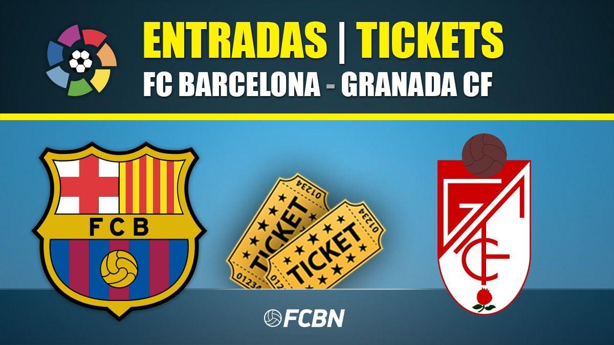 Entradas FC Barcelona-Granada - LaLiga Santander 2019-2020