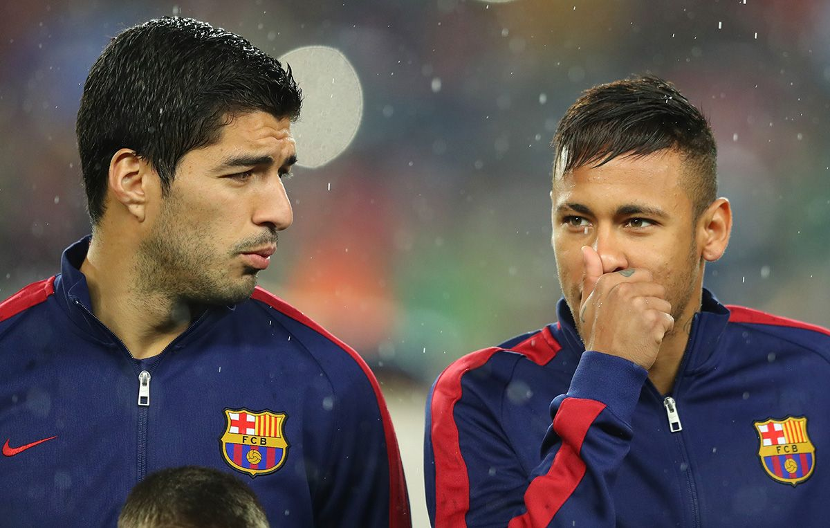 "Luis Suárez: ""Neymar has done all the possible to come back"""