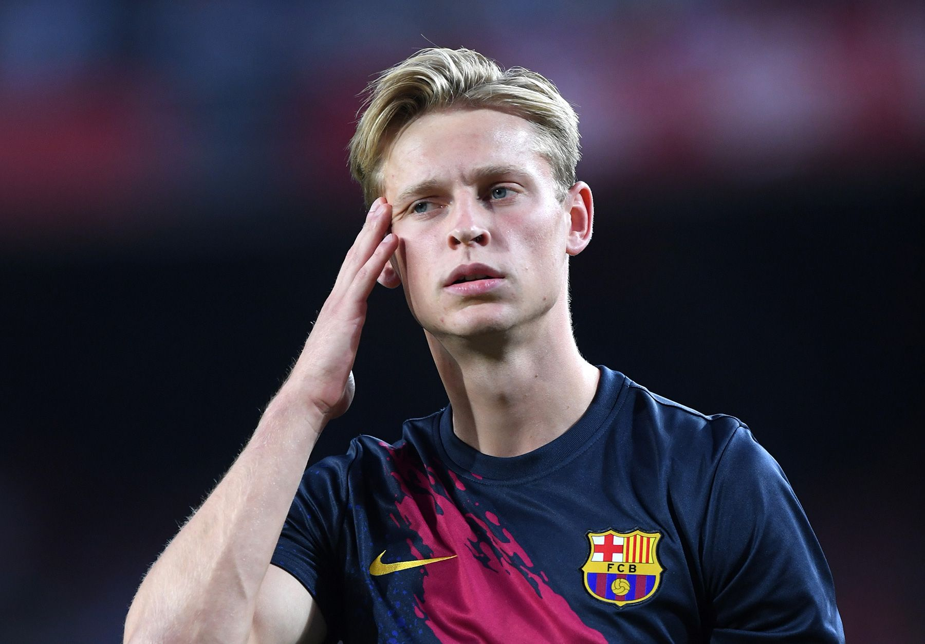 Van Gaal Barca Is Not Using De Jong S Qualities
