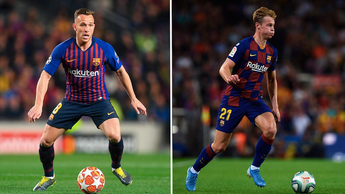 Arthur De Jong Midfield Players For A Decade In Barca