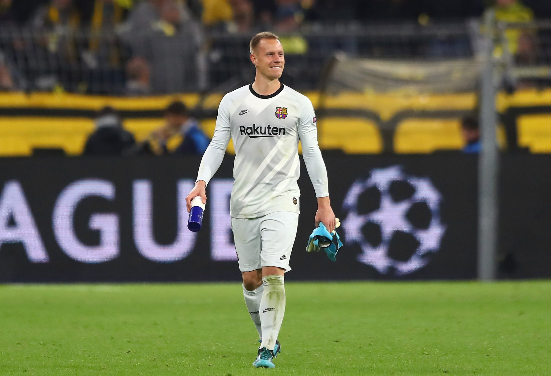 Ter Stegen reaches 120 games in the league with Barça and matches Urruti