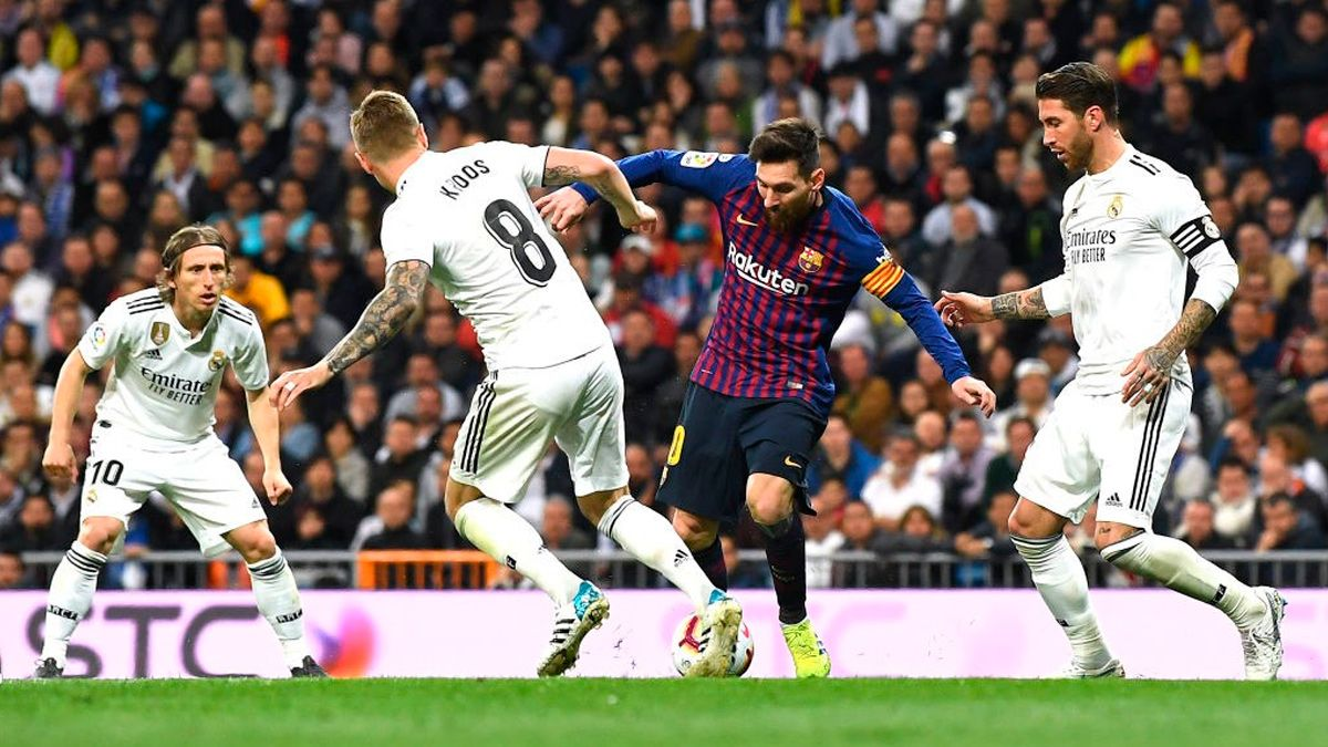 The Camp Nou El Clasico Of Laliga 2019 20 Already Has Date And Hour