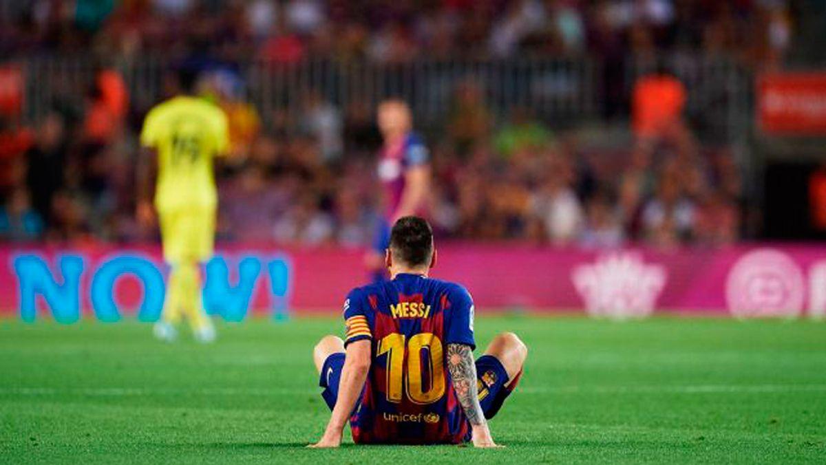 Comunicado oficial del Barça sobre la lesión de Messi