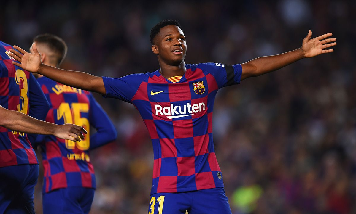 Ansu Fati The Only Barca Player In The Revelation Lineup Of Laliga