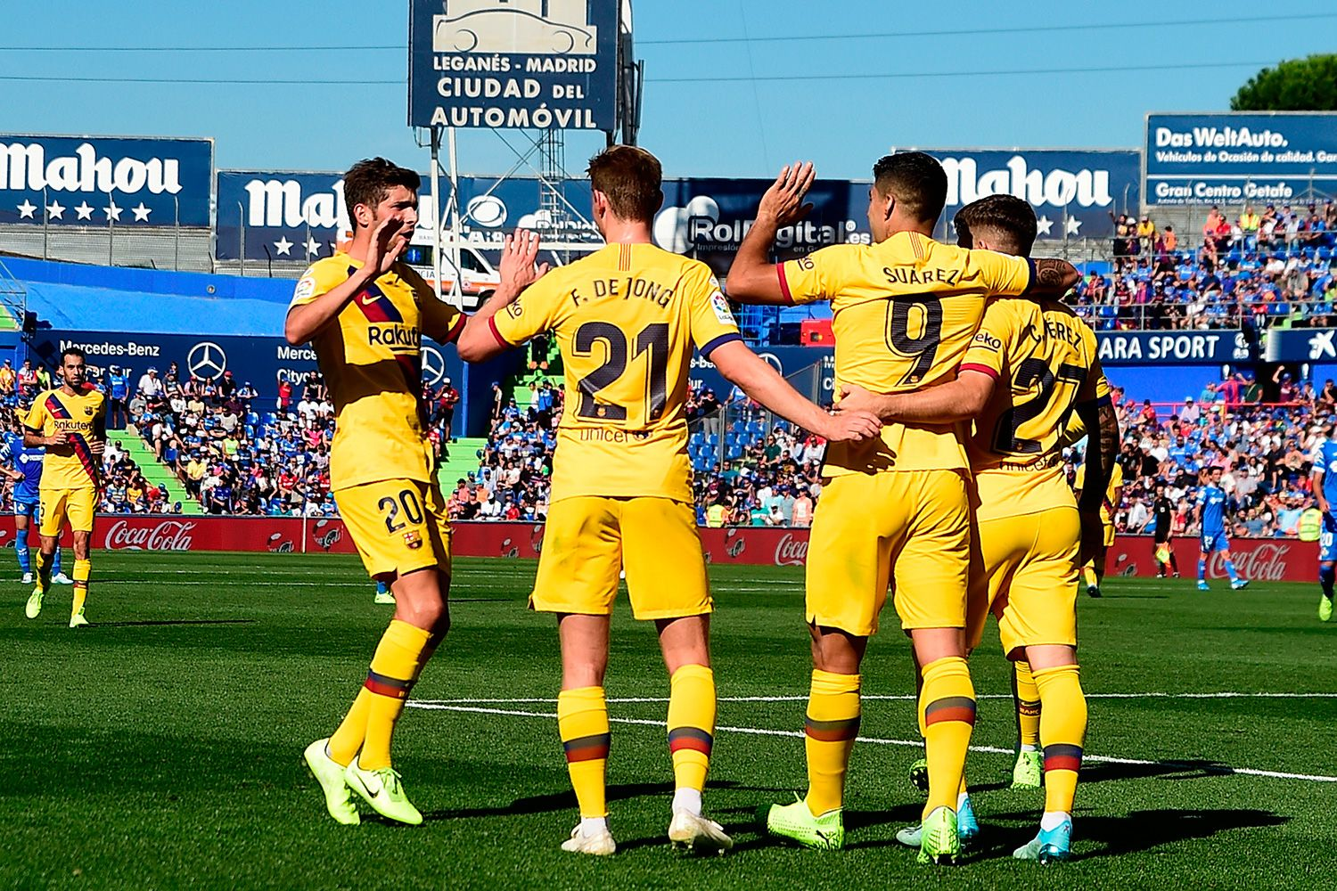 Barca Breaks Its Bad Streak And Returns To Win At Home Eight Games