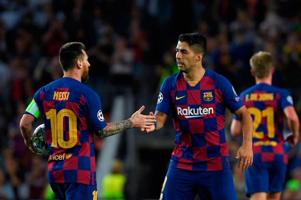 Messi And Suarez In The Eleven Of The Week Of The Champions