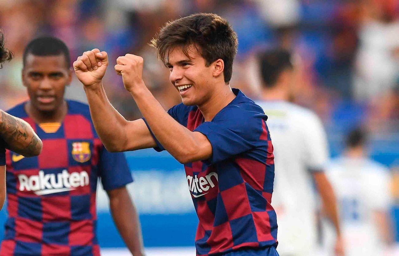 The step forward of Riqui Puig in Barça B