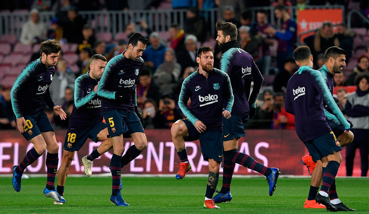 Barca Will Protect To The Old Players To Fight By Liga Copa And Champions