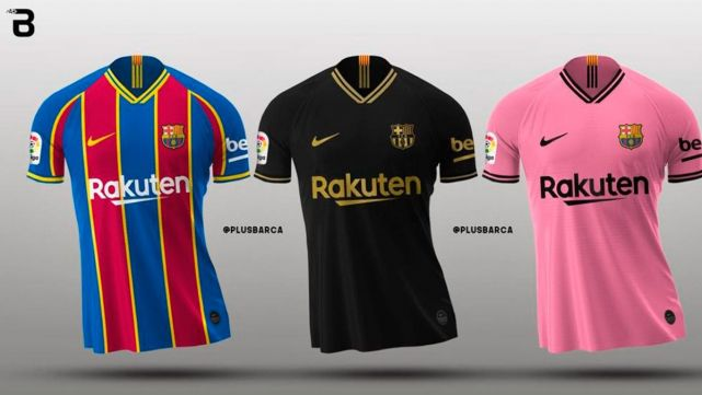 This Will Be The Kit Of Fc Barcelona In The 2020 21 Season