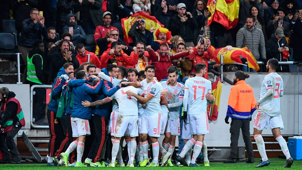 Image result for marcus berg vs spain 2019