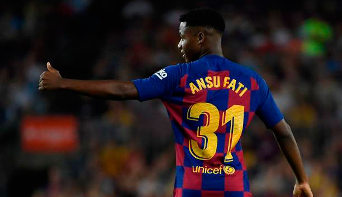 Ansu Fati Of Being The Best Not To Count For Valverde