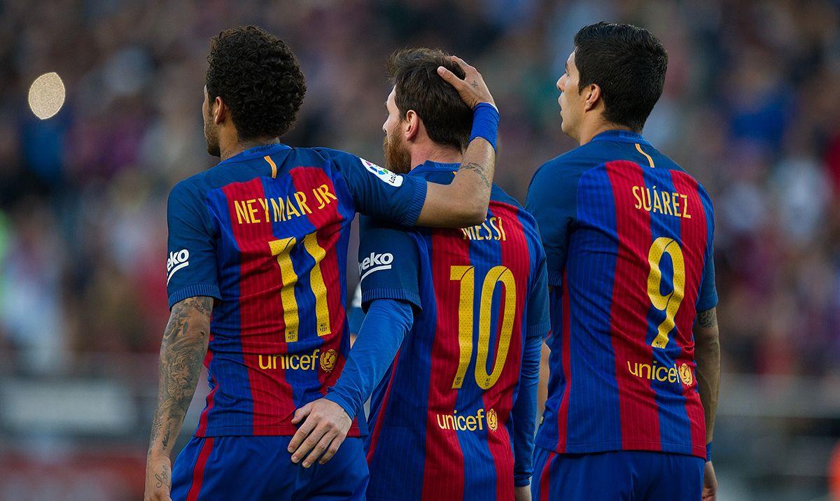La 'MSN' de Neymar era superior a la 'MSG' de Griezmann