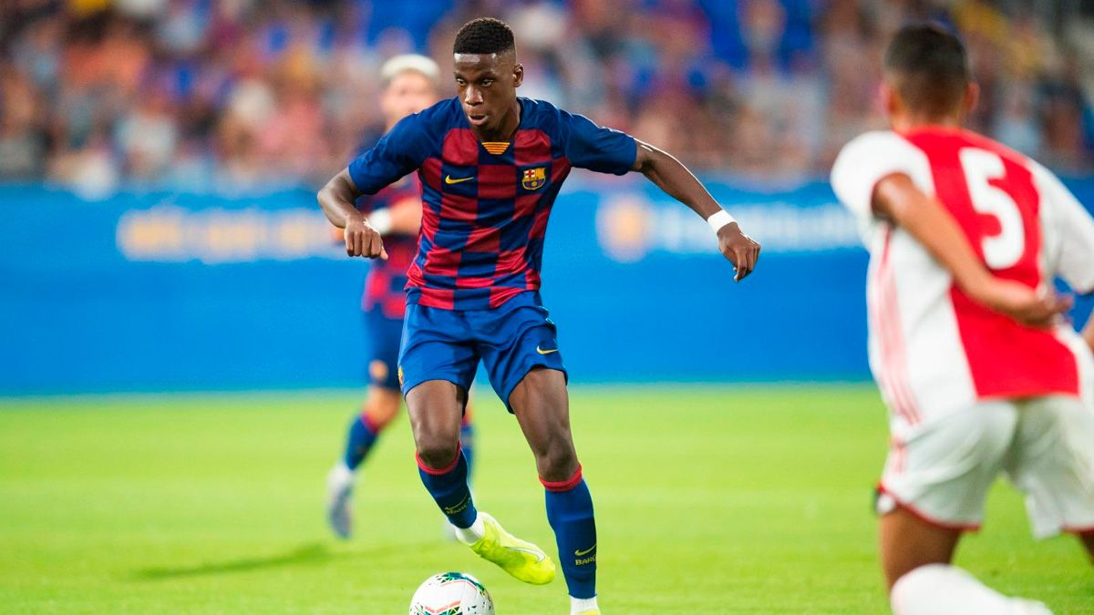 Ilaix Moriba Between the sixty better young talents of 2020