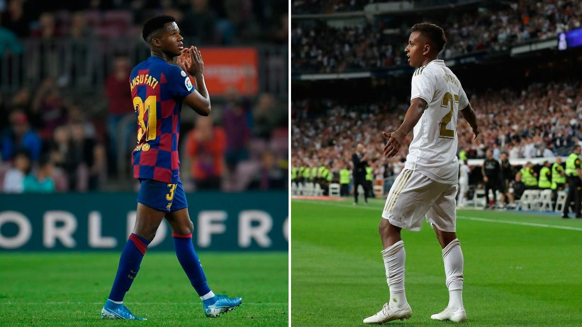 Differences And Similarities Between The Promising Ansu Fati And Rodrygo Goes