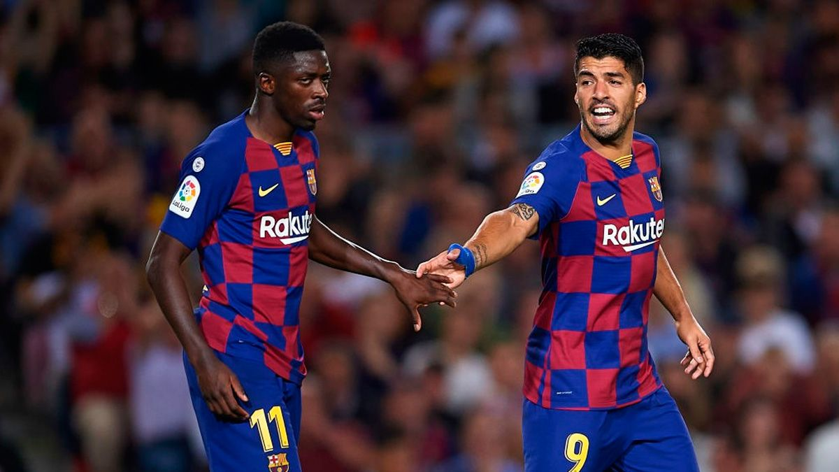Luis Suárez and Dembélé, two 'signings' that can bring a Champions