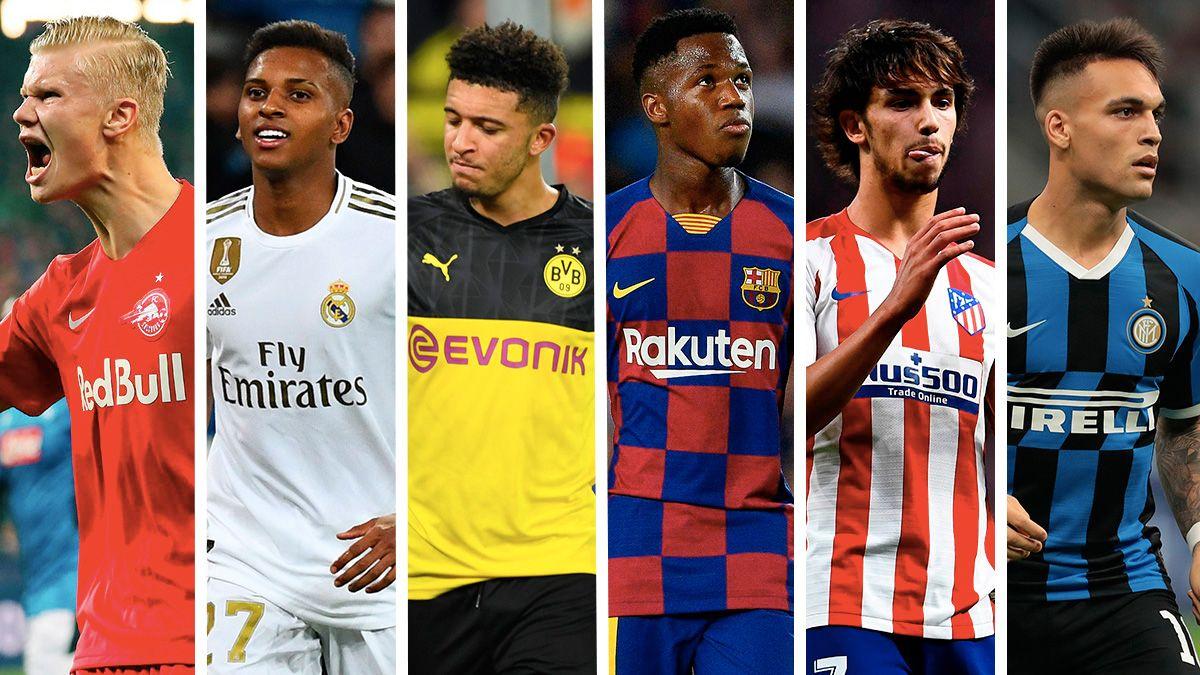 Las jóvenes estrellas invaden Europa: Haaland, Lautaro, Ansu Fati, Rodrygo... - FC Barcelona Noticias