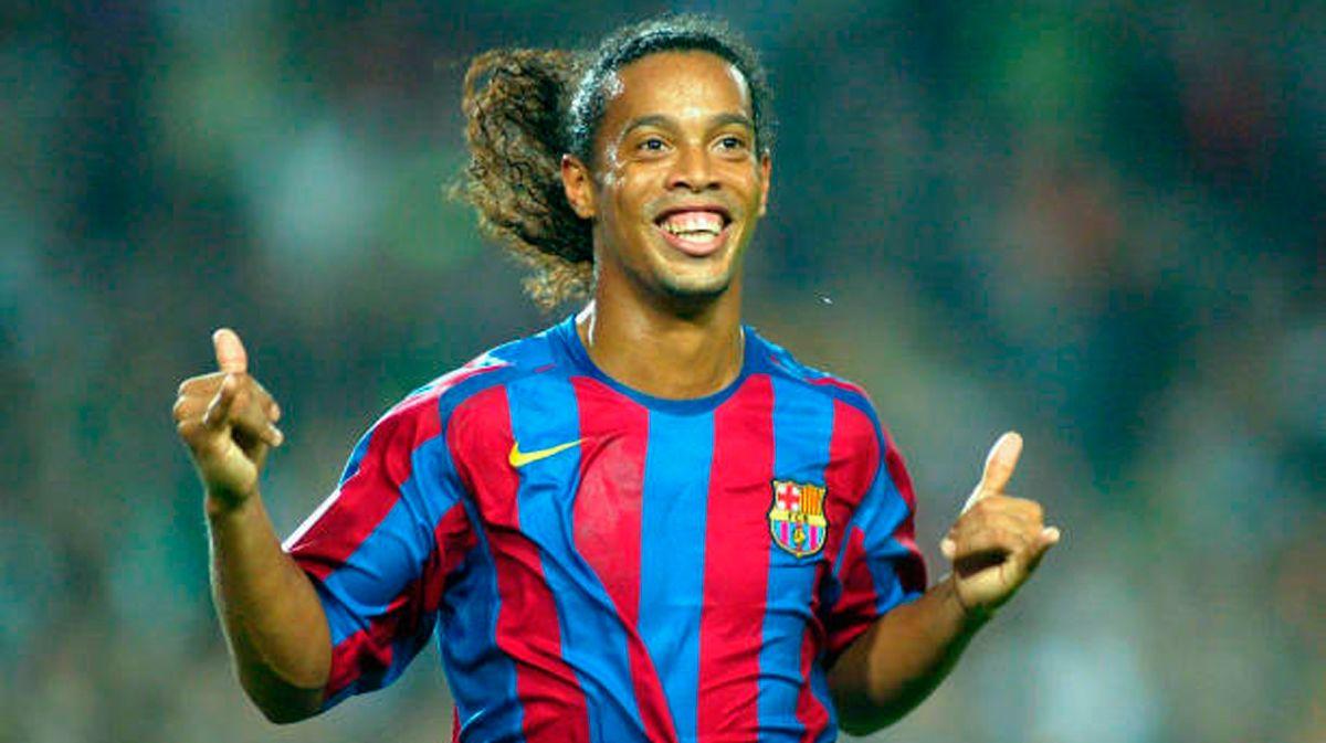 Barça prepares a tribute match to Ronaldinho