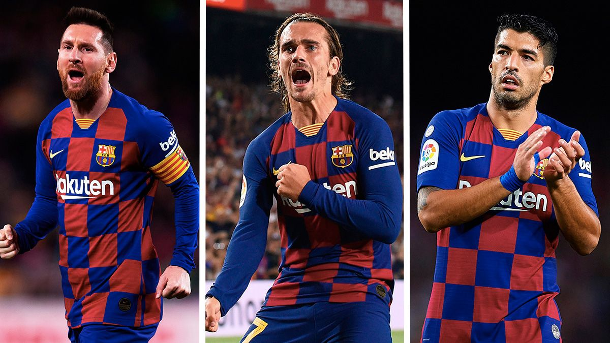 The Big Challenges For Messi Suarez And Griezmann Before Christmas