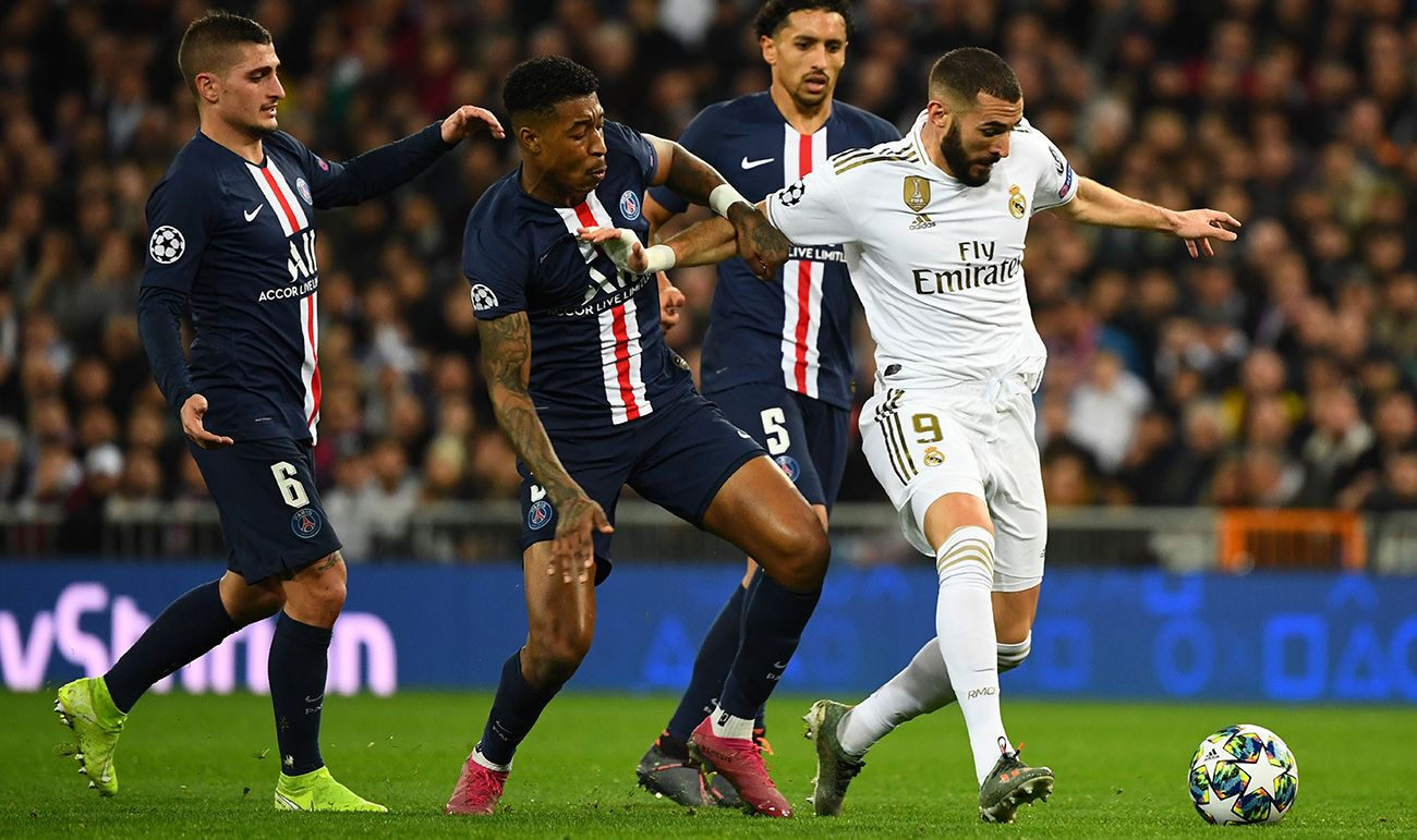Three Disastrous Minutes Condemn A Great Madrid Against Psg 2 2