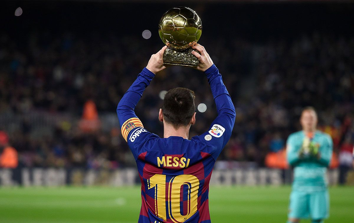 Leo Messi Traces The Way To His Seventh Ballon D Or