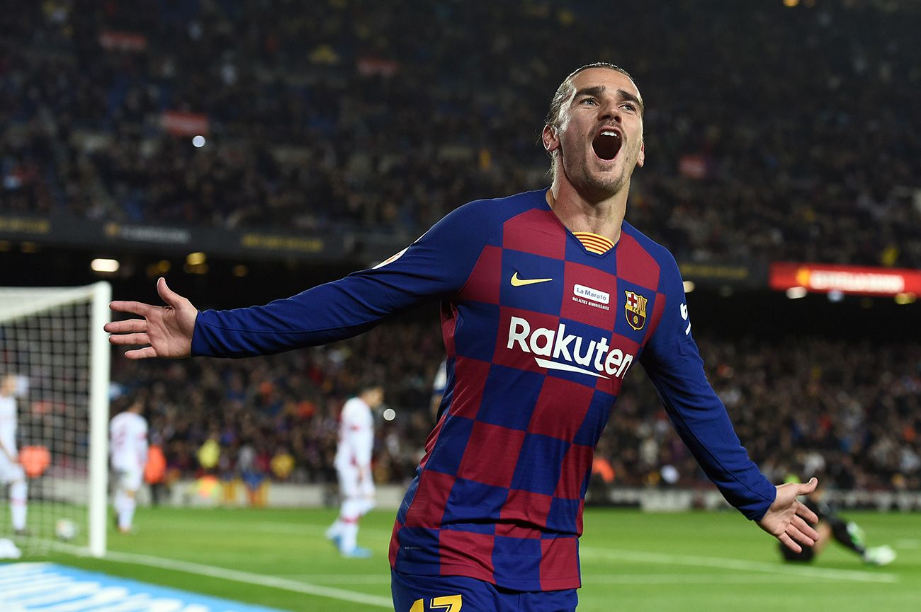 And Griezmann Finally Scored He Had Not Celebrated A Goal In Laliga For 49 Days
