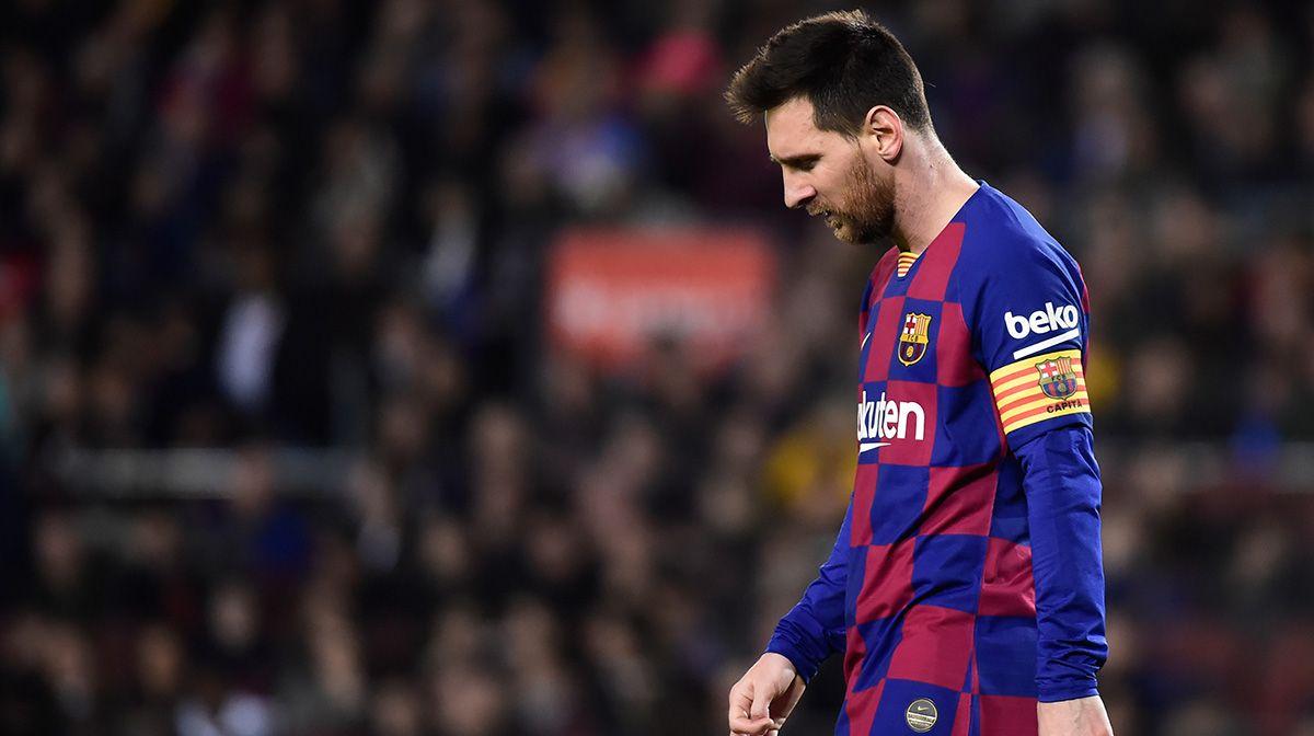 Leo Messi atraviesa una particular 'crisis' en los últimos Clásicos