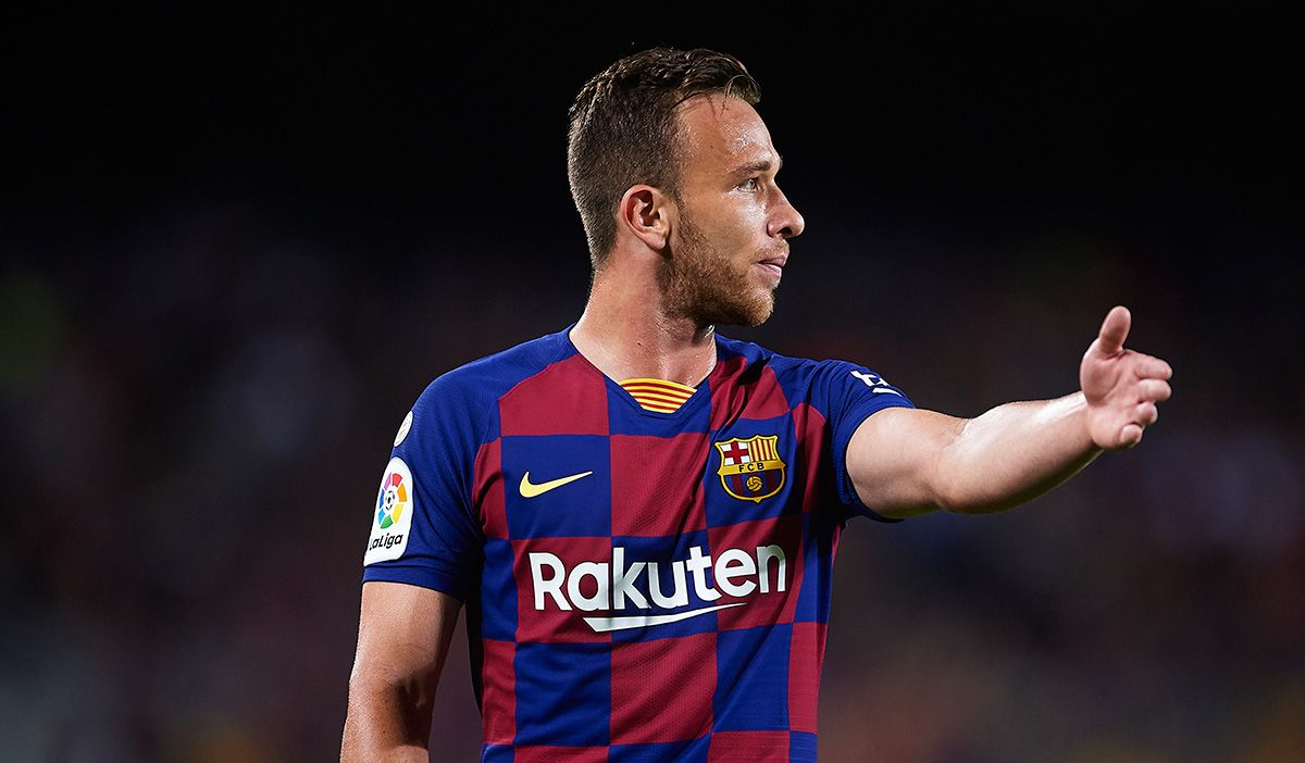 "Arthur talks again: ""My signing by the Barça was about to to break"""