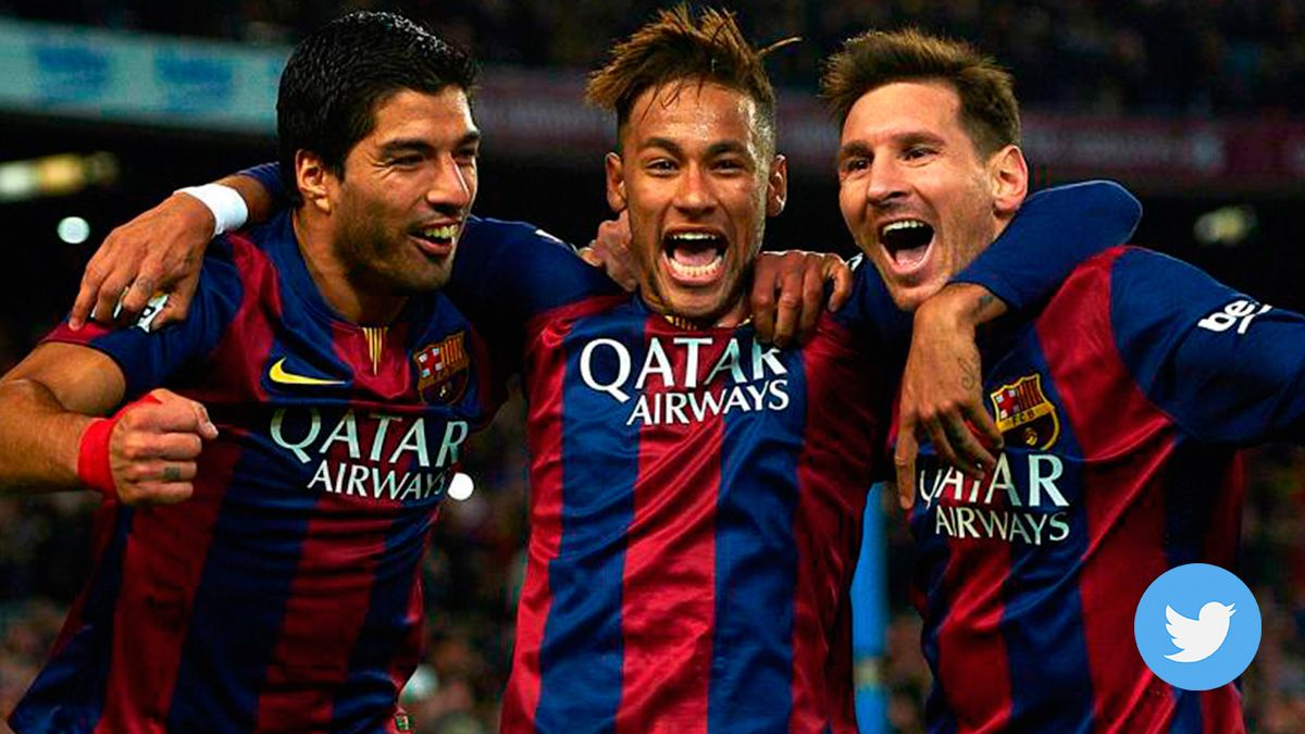 New 'wink' of Neymar? His last 'tweet' has Barcelona flavour