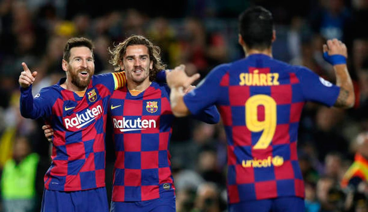 Griezmann Could Have Joined Messi Suarez And Neymar In Uruguay