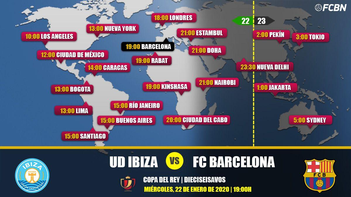UD Ibiza vs FC Barcelona en TV: Cuándo y dónde ver el partido