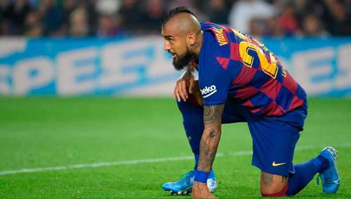Arturo Vidal, de tener un pie fuera del Barça a ser intra...