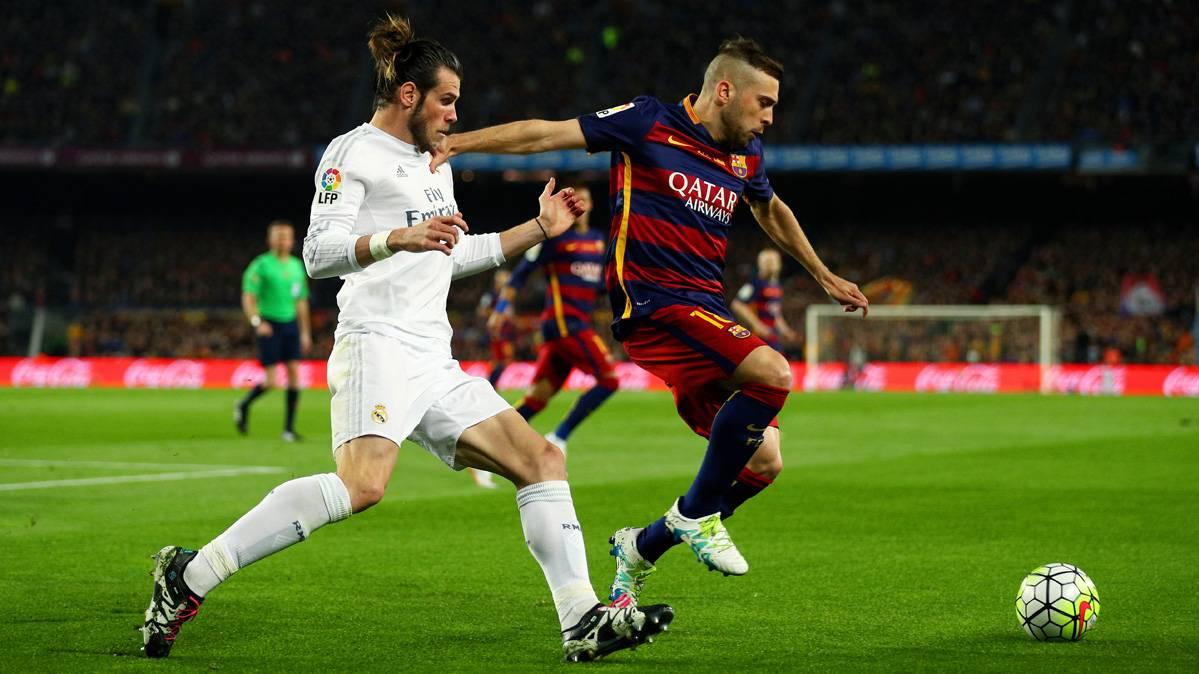Jordi Alba intentar� resarcirse contra el Atl�tico de Madrid