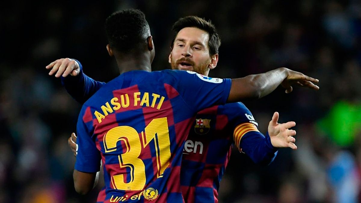 The Connection Between Leo Messi And Ansu Fati Makes Barca Dream
