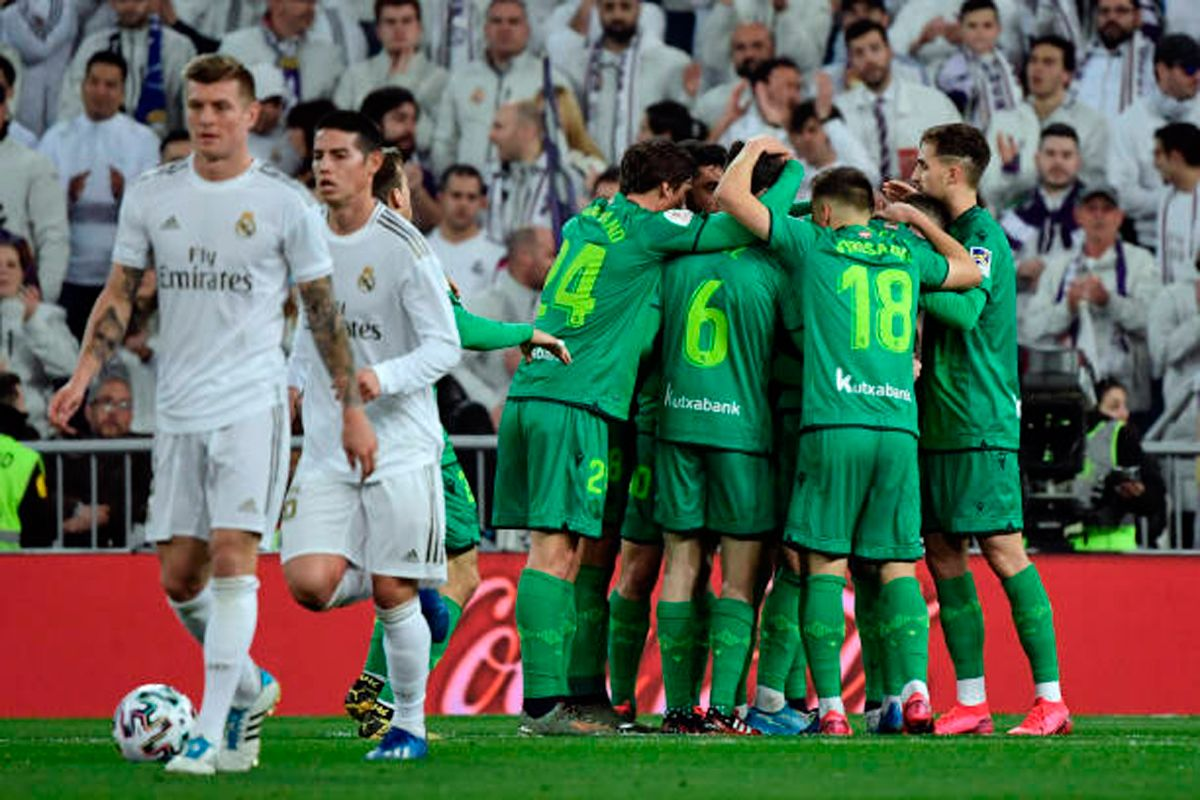 The Real Sociedad throws Real Madrid out of the Copa del Rey (3-4)