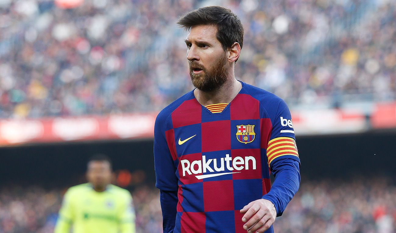 Follow Messi's 'badge': Four straight games without scoring in LaLiga