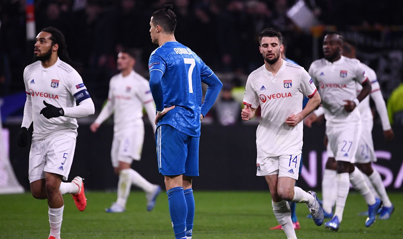 A sad Juventus falls in Lyon without shooting between the three ...