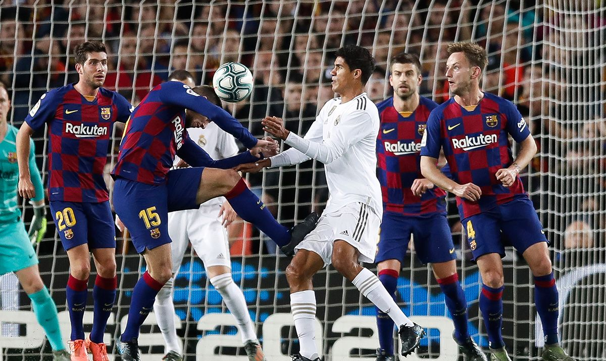 The Contrast Of Dynamics Benefits To The Barca In A Decisive Clasico