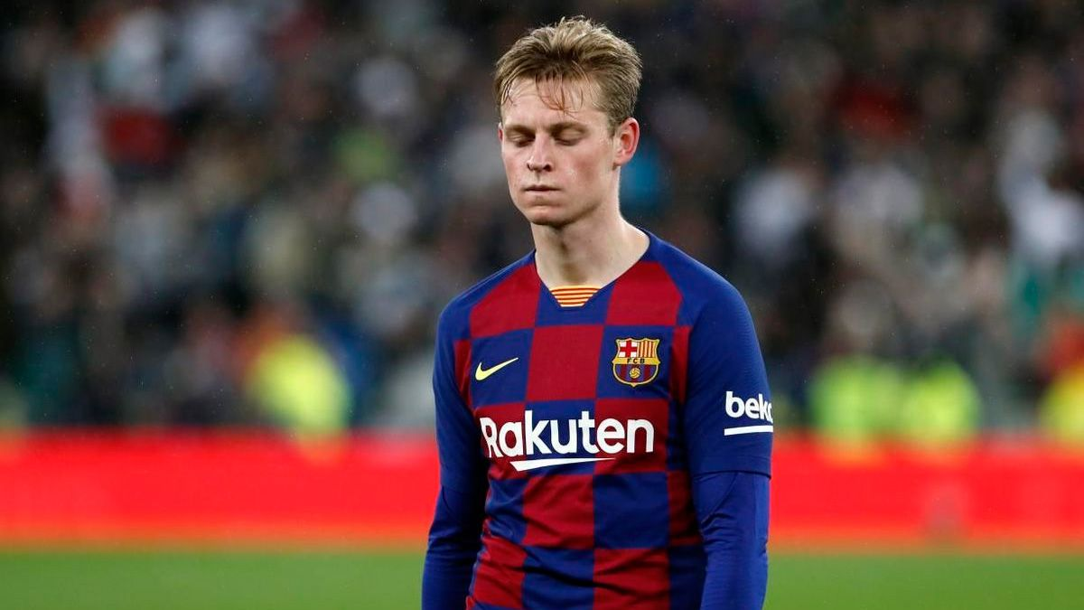 De Jong S Tremendous Anger With Fc Barcelona