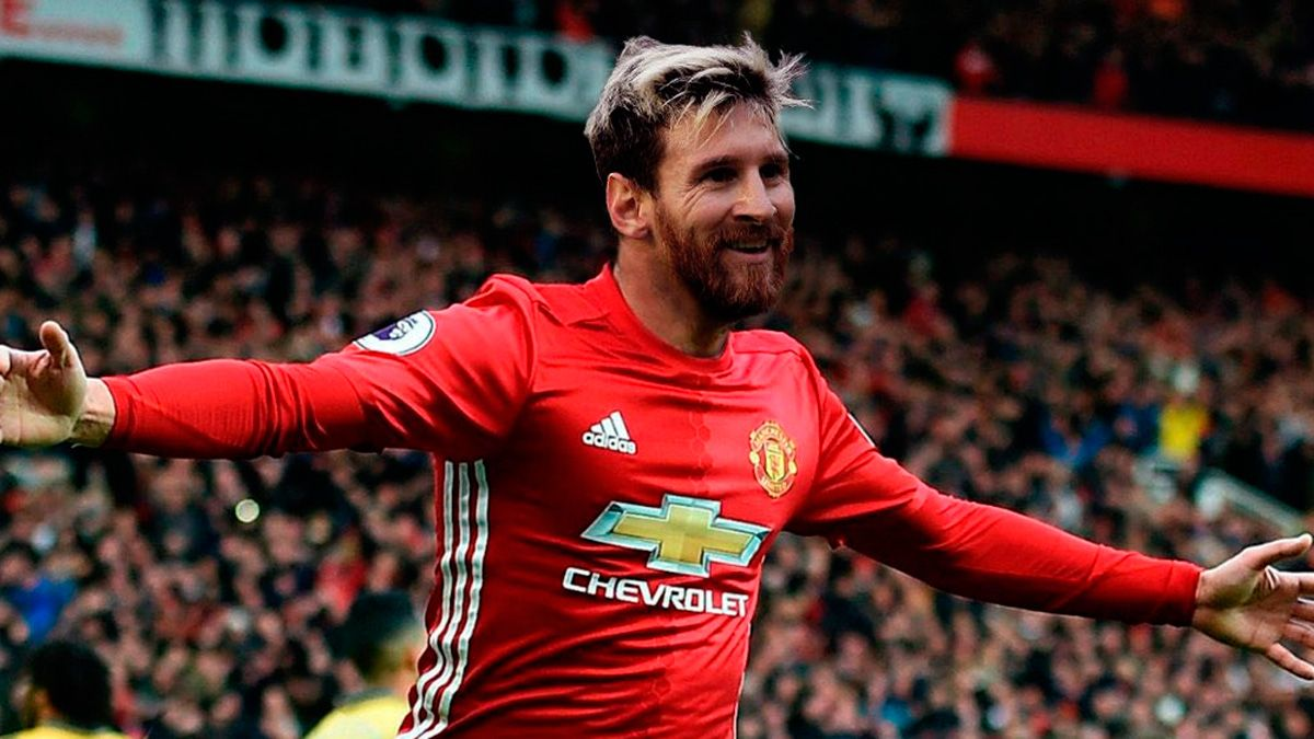 An April Fool S Joke Makes Leo Messi Sign For Manchester United