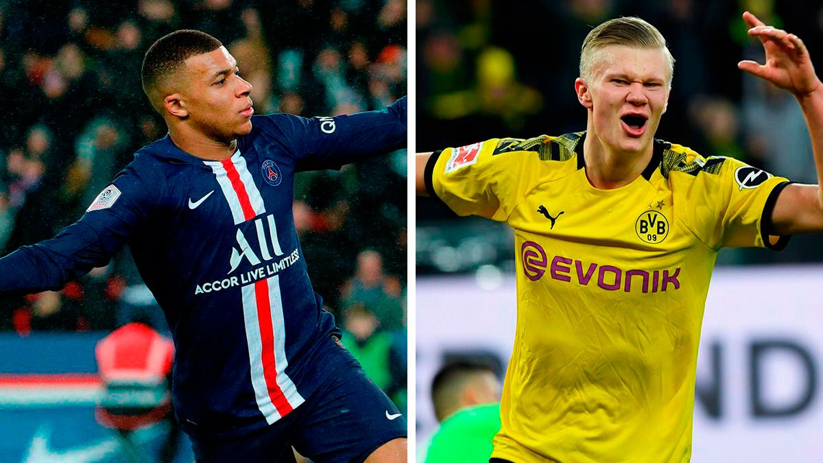 Mbappe And Haaland The Two Cracks That Madrid Wants For 2021
