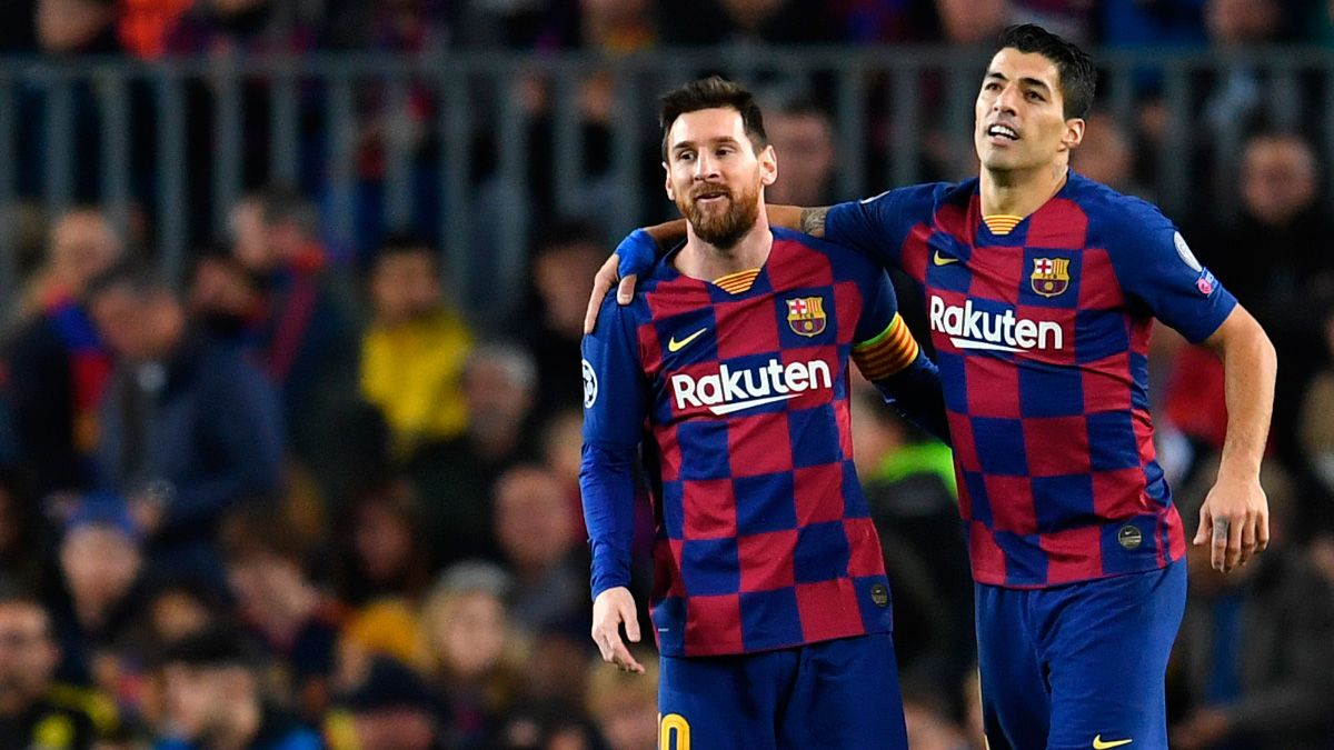 The Last Dinner Leo Messi And Luis Suarez Dining In Barcelona