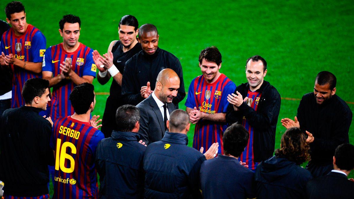Pep Guardiola saca a la luz los secretos del vestuario del Barça