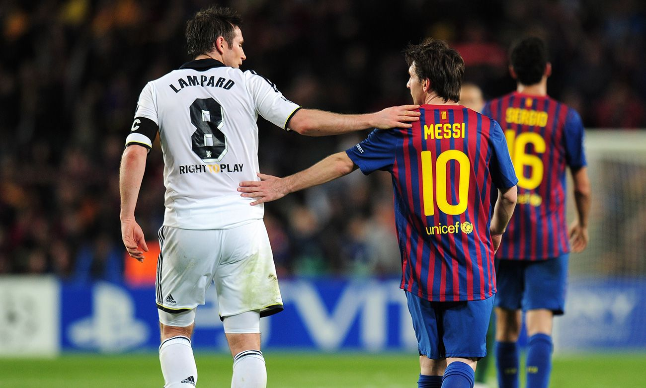 Lampard Messi Xavi And Iniesta Are The Players Who Made It Worse For Me