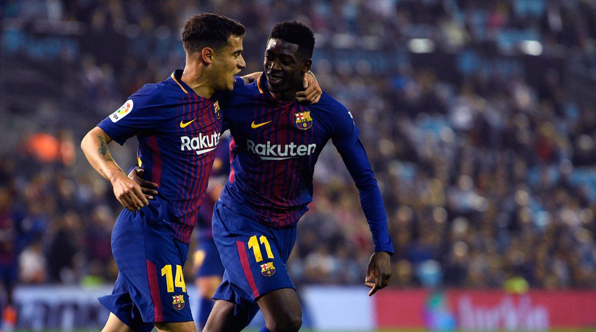 Coutinho's example alerts Barça about a possible loan of Dembélé