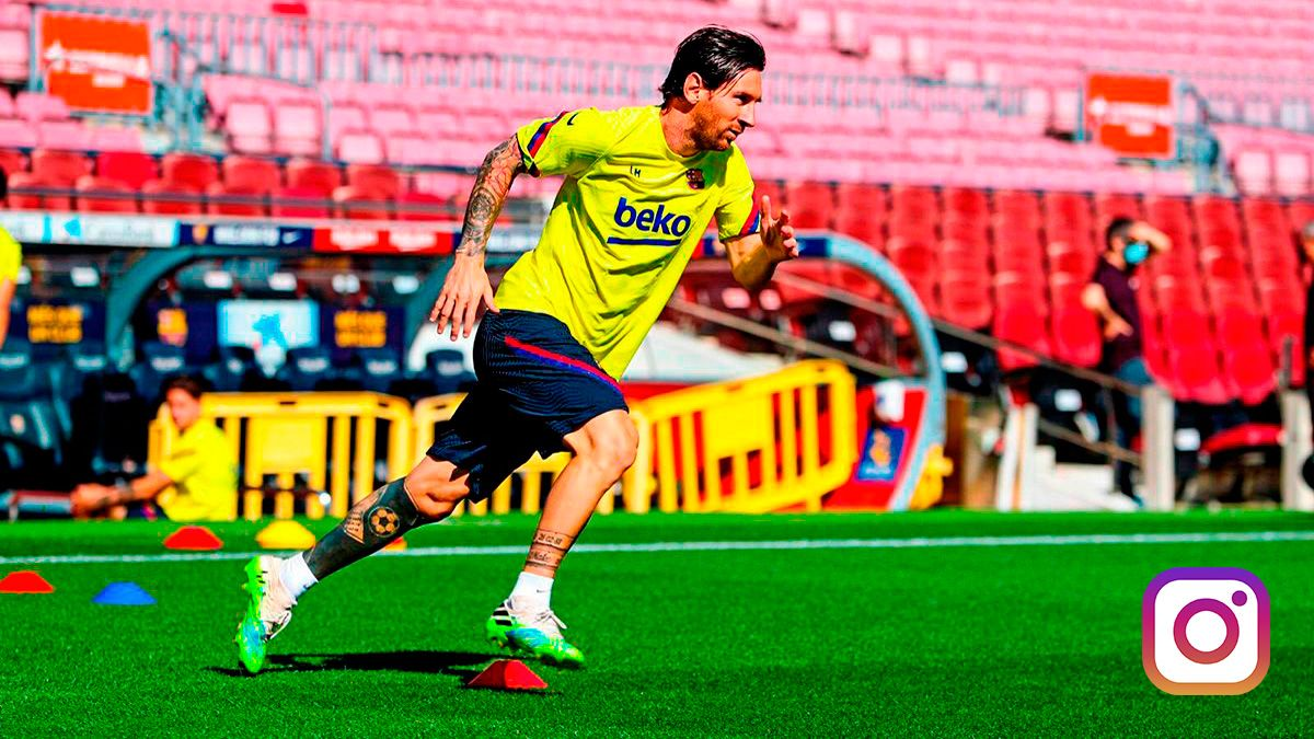 messi euphoric on the long awaited return to his camp nou long awaited return to his camp nou
